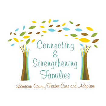 Foster Care Logo - Connecting and Strengthening Families