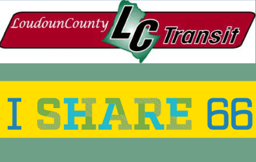 Image of LC Transit and I Share 66 Logos