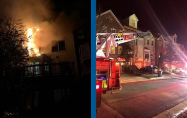 Sterling Townhouse Fire