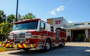 LCFR Fire Station 627 Grand Opening - Coupling Ceremony Newsflash