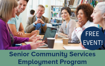 Image of Senior Employment Program Graphic