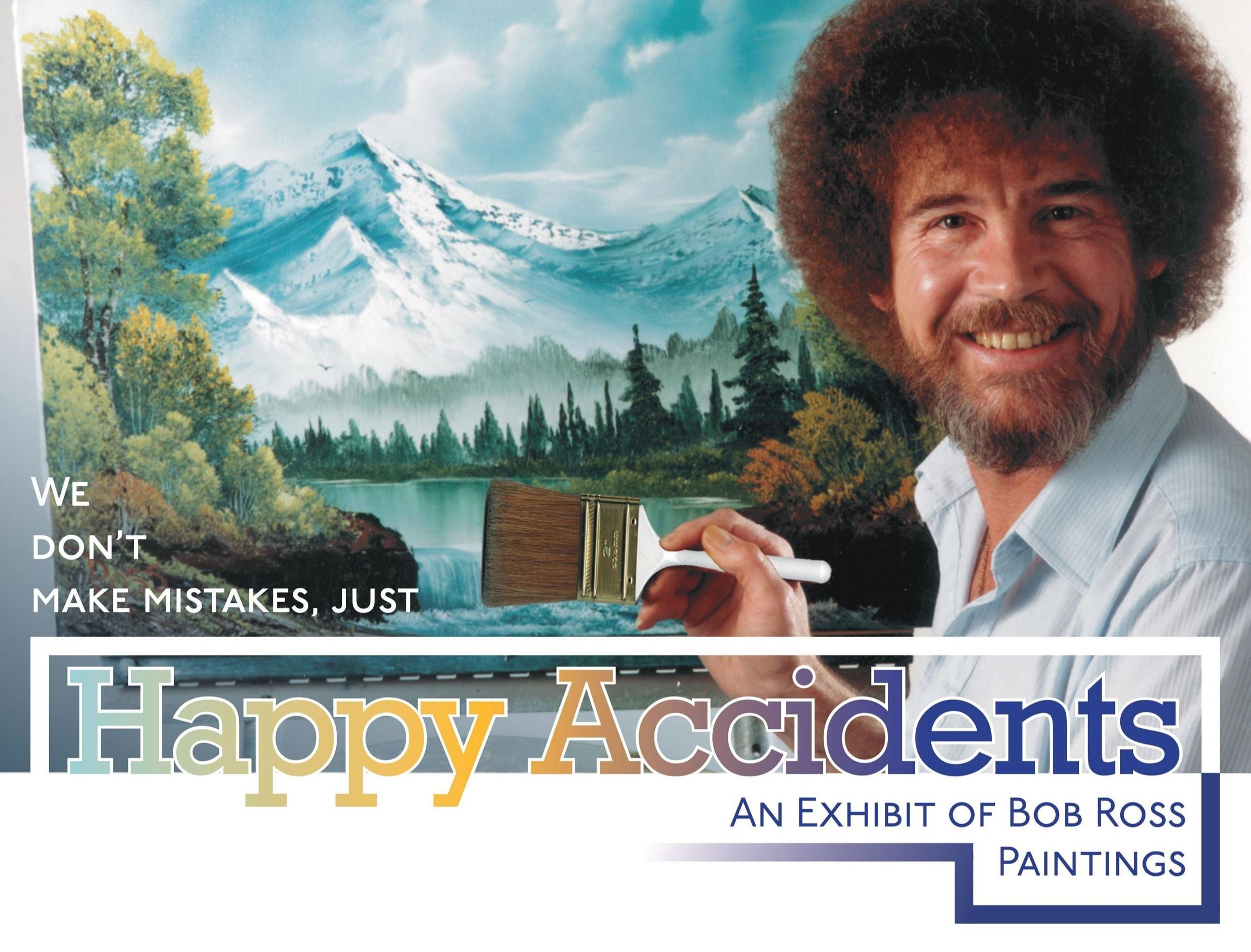 Link to information about Bob Ross exhibit