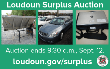 Images of items for sale in September 2019 Loudoun Surplus Auction