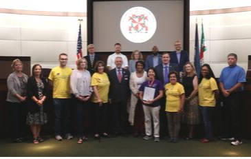 Photo of Disability Employment Proclamation Presentation