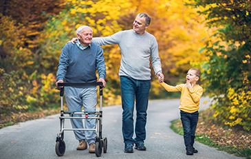 image of family caregiver