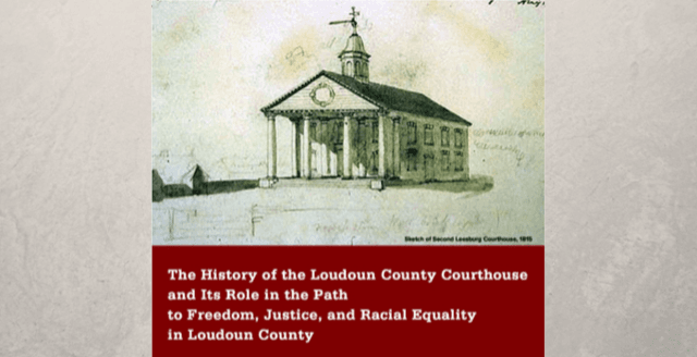 Link to final report on the Loudoun County Courthouse by the Loudoun County Heritage Commission