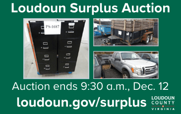 Image of Loudoun Surplus Auction Graphic