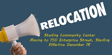 Image of relocation announcement