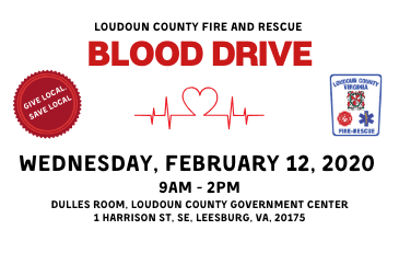 LCFR Blood Drive 2-12-20 Newsflash