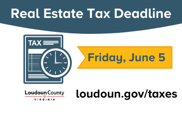 Image of Real Estate Tax Deadline of June 5, 2020, Graphic