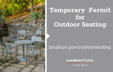 Image of Temporary Outdoor Seating Graphic