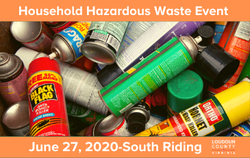 Image of graphic for June 27, 2020n Household Hazardous Waste Event