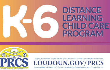 Image of graphic for K-6 Distance Learning Child Care Program