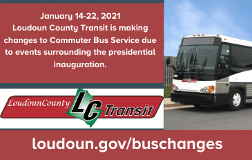 Link to information about bus service changes