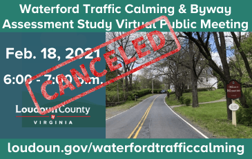 Link to information about the Waterford traffic calming project
