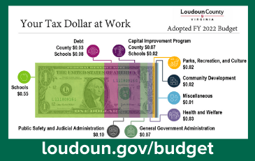 Link to information about the Fiscal Year 2022 Loudoun County budget
