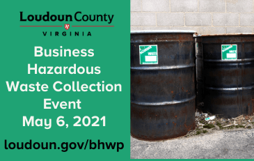 Link to information about the business hazardous waste program