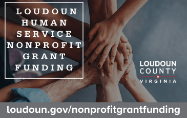 Link to information about nonprofit grant funding in Loudoun County