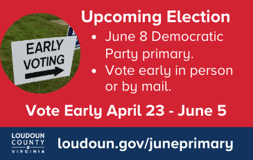 Link to information about the June primary election