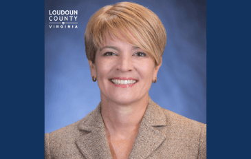 Photo of Ina Fernández, new director of the Loudoun Department of Family Services