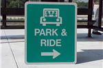 Park and Ride Sign